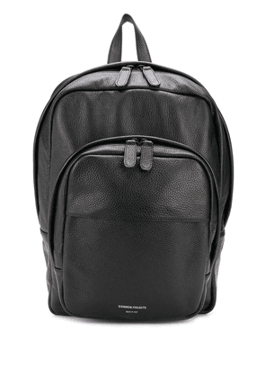 Common Projects pebbled leather backpack - Black