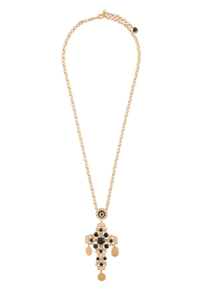 Dolce & Gabbana cross-pendant necklace - GOLD