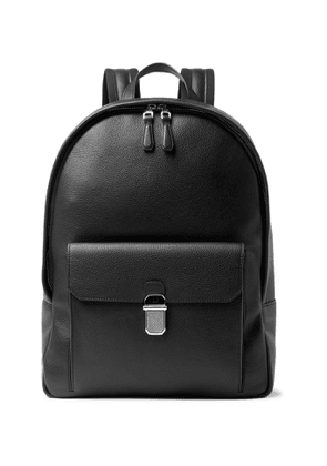 Dunhill - Belgrave Full-Grain Leather Backpack - Men - Black