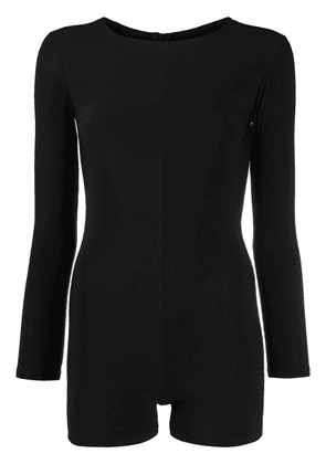 Alchemy Lia fitted playsuit - Black