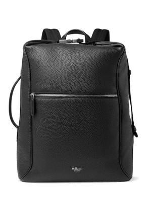 Mulberry - Urban Pebble-Grain Leather Backpack - Men - Black