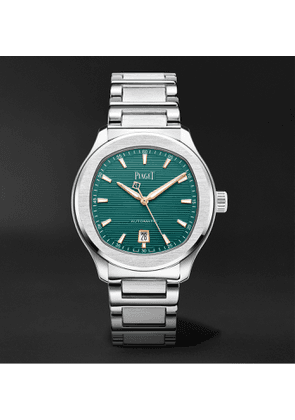 Piaget - Polo Automatic 42mm Stainless Steel Watch, Ref. No. PGG0A45005 - Men - Green