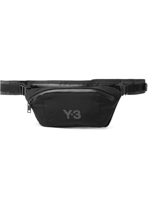 Y-3 - CH1 Logo-Print Shell Belt Bag - Men - Gray