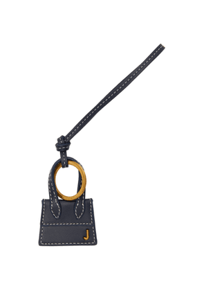 Jacquemus Navy and Gold Le Porte Cles Chiquito Keychain
