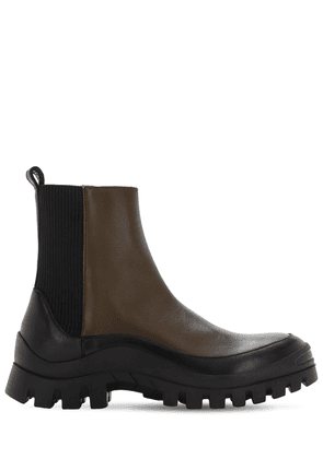 30mm Mira Leather Beatle Boots