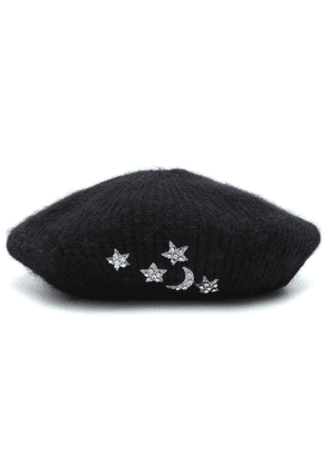Exclusive to Mytheresa – Embellished mohair beret