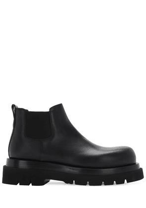 Bv Lug Leather Chelsea Mid Boots