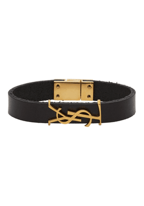 Saint Laurent Black Opyum Bracelet