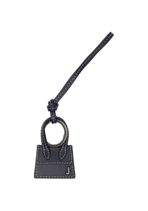 Jacquemus Navy and Gunmetal Le Porte Cles Chiquito Keychain