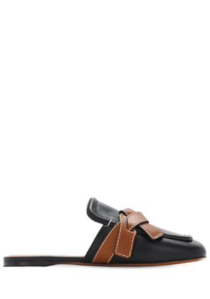 10mm Gate Leather Mules