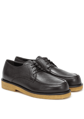 Honore leather Derby shoes