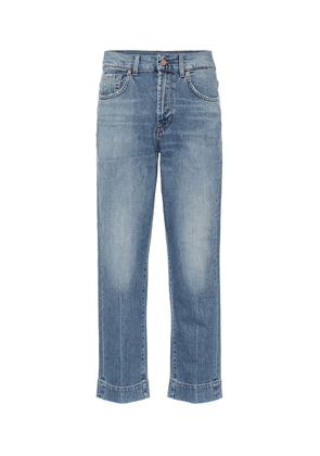 The Modern Straight high-rise jeans