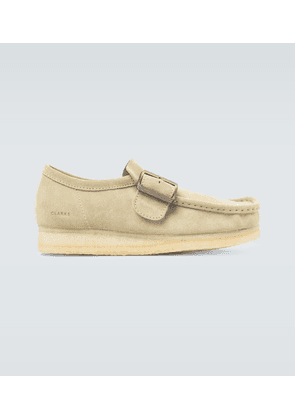 Wallabee Monk suede shoes