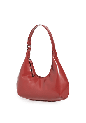 BY FAR Baby Amber Bordeaux Bag