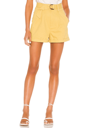 Tularosa Olena Short in Yellow. Size XXS,XS,S,L,XL.