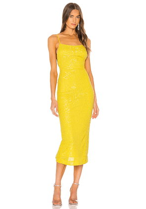 NBD Athens Gown in Yellow. Size XXS.