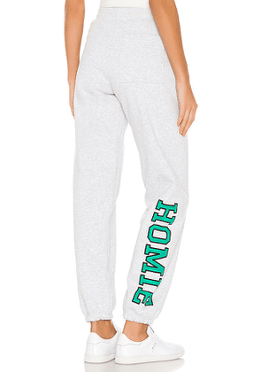 GRLFRND Homie Sweatpants in Grey. Size M.