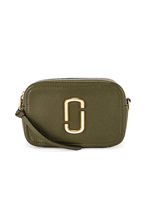 Marc Jacobs The Softshot 17 Bag in Green.