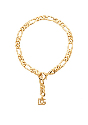 Dolce & Gabbana - Dg-charm Figaro-chain Necklace - Womens - Gold