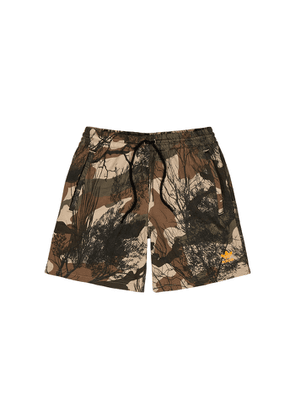 ADIDAS ORIGINALS Camouflage-print Cotton Shorts