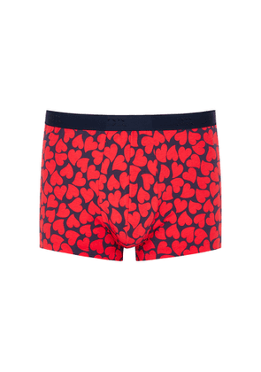 Derek Rose Heart-print Stretch-cotton Boxer Briefs