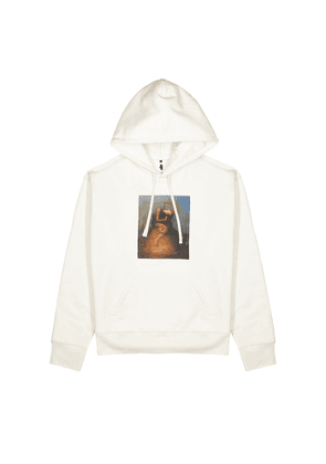 OAMC Totem Off-white Hooded Cotton Sweatshirt