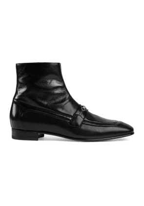 Men's ankle boot with Horsebit