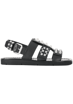 Prada studded sandals - Black