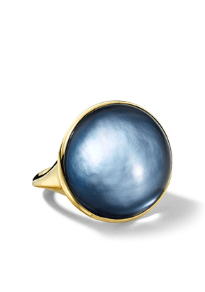 IPPOLITA 18kt yellow gold Luce small oval ring