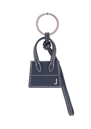 Jacquemus Le Chiquito leather keyring - Blue