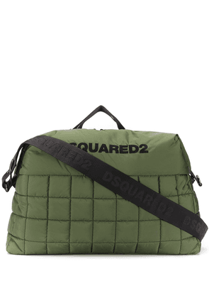 Dsquared2 padded logo holdall - Green