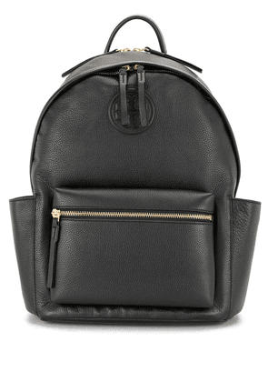 Tory Burch Perry Bombé leather backpack - Black