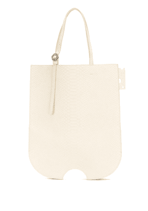Off-White MATTE SWISS SHOPPER BEIGE NO COLOR - Neutrals