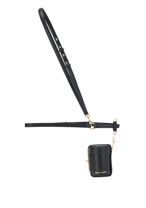 Alexander McQueen Myth Cylinder harness belt bag - Black