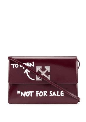 Off-White Jitney shoulder bag - Red