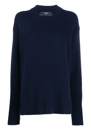 Stella McCartney relaxed-fit crew-neck jumper - Blue