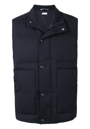 Thom Browne down-feather gilet - Blue