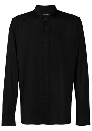 Tom Ford tailored jersey shirt - Black