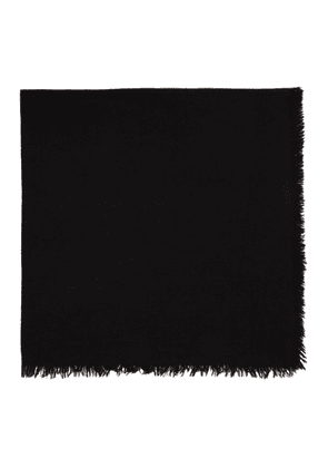 Rick Owens Black Square Anona Scarf