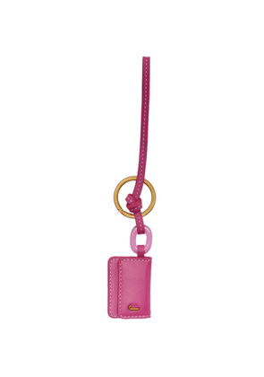 Jacquemus Pink Le Porte Cle Riviera Keychain