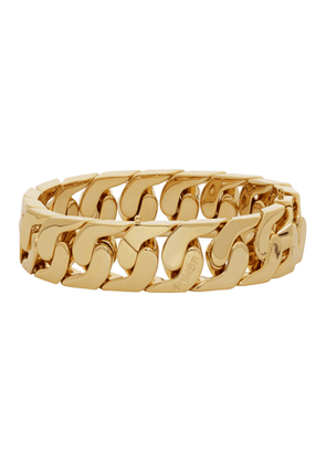 Numbering Gold Big Curb Chain Bracelet