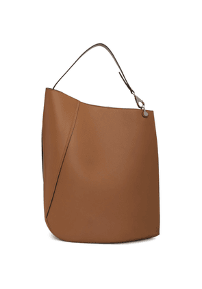 Lanvin Beige Large Asymmetric Bucket Bag