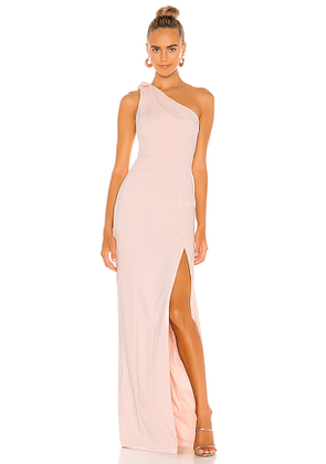 Jay Godfrey Goldie Gown in Pink. Size 4,6,8.