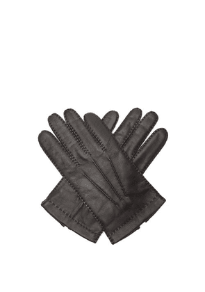 Dents - Shaftesbury Touchscreen Leather Gloves - Mens - Black