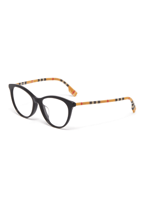 Check temples acetate frame cateye optical glasses