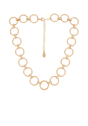 8 Other Reasons Yonce Necklace in Metallic Gold.