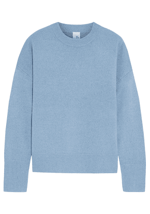 Iris & Ink Ariana Wool And Cashmere-blend Sweater Woman Light blue Size M