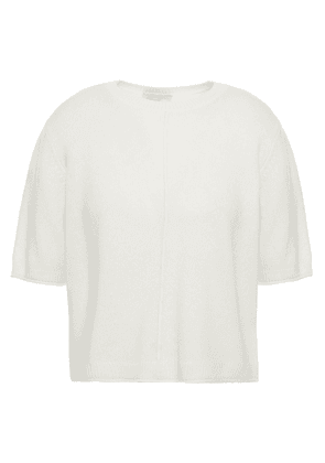 Joie Wool And Cashmere-blend Top Woman Ivory Size L