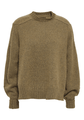 Isabel Marant Wool-blend Sweater Woman Army green Size 38