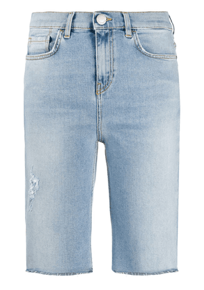 Pinko long denim shorts - Blue